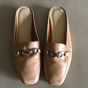 All Leather Mules
